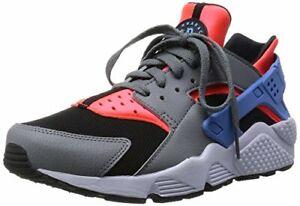 Nike Men's Air Huarache Run Grey/Crimson/Blue Sz 11 318429-602 Men's