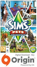 Les sims 3 pets expansion pack mac et pc origin key