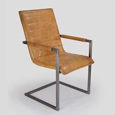 Schwingstuhl Freischwinger Designer Echt Leder Vintage Leder Nr.703 Stuhl Kassel