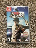 MLB RBI 20 Baseball (Nintendo Switch, 2020)