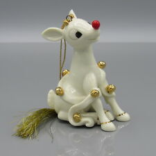 Lenox Rudolph Rings In The New Year Ornament Whimsical Rudolph (1Zrc-1)