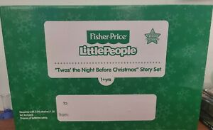 Fisher 2004 Twas The Night Before Christmas Story Set Little People C5221