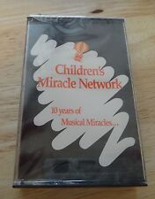 1990 Children's Miracle Network 10 Years of Musical Miracles cassette New Sealed