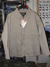 Tactical jacket 5.11 veste coton canvas taille XL khaki beige tan coyote sable