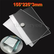 2x Generic Acrylic Clear Cutting Plates Thick 3mm for Sizzix Big Shot  155x225mm