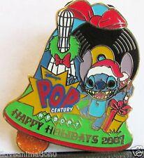 Disney Happy Holidays Pop Century Resort Sitch Artist Proof AP Pin