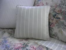 NEW Custom Ralph Lauren Winter Garden Stripe Throw Pillow