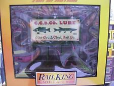 Mth Trains O Gauge Lighted Billboard Creek Chub Bait Co. Limited Edition Rare