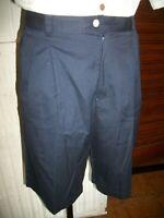 Short bermuda coton/ployester bleu marine SERGIO TACCHINI 52 46FR brodé 16ETH16