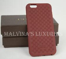 GUCCI iPHONE 6 CASE COVER RED BIO-PLASTIC GG GUCCISSIMA LOGO