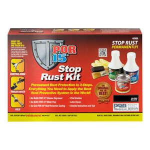 POR-15 Stop Rust Kit Black  P/N - 40909