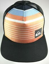 Quicksilver Hat Mens Mesh Trucker Snapback One Size Fits Most
