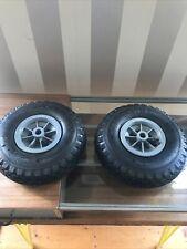 "2x Rojo 10"" Neumáticos Saco Camión Carretilla Trolley rueda carro para neumáticos ruedas Neumáticos"
