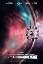 Interstellar 2014 Movie Poster Print A0-A1-A2-A3-A4-A5-A6-MAXI - CL84