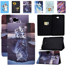 Cute Painted Case for Samsung Galaxy Tab A 10.1 2016 T580 T585 Fold Stand Cover
