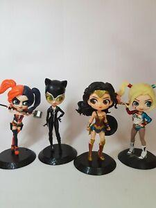 US Comics DC Comics Justice League Harley Quinn Catwoman Wonder Woman Figures