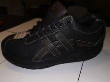 Skechers SHAPE UPS UOMO Nero tutte le scarpe di pelle