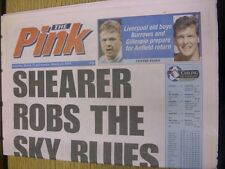 11/03/1995 Coventry Evening Telegraph The Pink: Main Headline Reads: Shearer Rob