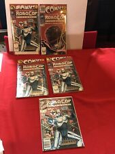Vintage Rare Wholesale Lot Of Robocop No. 1 And 4 Sealed Robocop Comic Packages