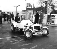 COLIN CHAPMAN & WIFE ROB WALKER LOTUS OPUS HRF 3 PHOTOGRAPHS 1967