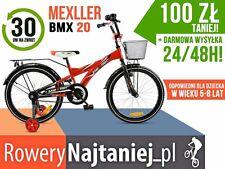 Polski Rower dziecięcy 20 BMX Mexller 2016 dla chłopca 5-8 lat OKAZJA!