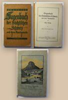 Meiche Sagenbuch der sächsischen Schweiz und ihre Randgebiete 1929 Ortskunde xy