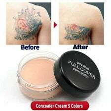 Natural Professional Make Up Contouring Cream Full Cover Wrinkle Face Concealer