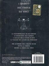 I SEGRETI DEL CODICE DA VINCI (2005) DVD + LIBRO ORIGINALE NUOVO SIGILLATO