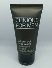 Clinique for Men Oil control face wash 50ml New large travel holiday size