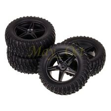 "4x RC 1:10 Pull Rally Car Off-Road 2.2"" Wheels Rim Tires Tyre HSP HPI 605B-7007"