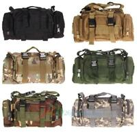 Outdoor Military Tactical Waist Pack  Molle Camping Hiking Pouch Bag Waterproof
