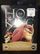 The Lion King (Blu-ray/DVD, 2017, 2-Disc Set, SteelBook Only  Best Buy)