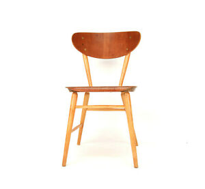 Vintage Teak Dining Chair Nr 58 from Brothers Wigells factory Malmbäck 1950s