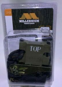 Millennium Treestands M102S Camlock Ratchet Strap Safety Receiver