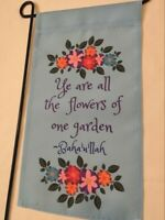 """Unity Love Garden Yard Flag 12/' x 18/"""" Peace"""
