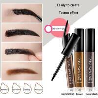 Lasting Peel off Eye Brow Tattoo Tint Dye Gel Eyebrow Cream Waterproof Makeup·