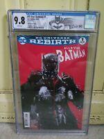 All-Star Batman #1 CGC Graded 9.8 Jock Variant DC Certified Label Comic Rare