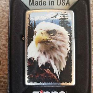 Zippo Lighter Genuine American Eagle