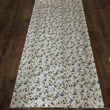 VTG Laura Ashley Priory Curtain (2) Panels Floral Cottage ONE Pair