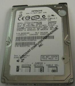 """NEW 100GB IDE Hitachi HTS541210H9AT00 44PIN 2.5"""" 9.5MM Hard Drive Free USA Ship"""