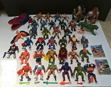 Masters Of The Universe (MOTU) He-Man Action Figures Lot 40 + Vtg 80s Rare