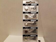 5 x FRESH Energizer 373 Silver Oxide Batteries (SR916SW / SR916W) FROM USA