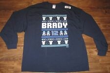 New NFL New England Patriots Tom Brady Video Game Mens T-shirt, Blue, Size 3XL
