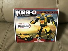 Kre-O Transformers Bumblebee 75 Pieces 31144 2in1 Sports Car or Robot Sealed