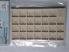 STAMPI ALFABETO Baby Blocco Alfabeto Sugarcraft Stampo in silicone il giorno successivo la spedizione