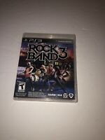 ROCK BAND 3 - Complete PlayStation 3 PS3 Game CIB Tested Fast Shipping