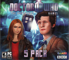 NEW DOCTOR WHO The Adventure Games Episodes 1 to 5 PC Game DVD-ROM Dr. Who