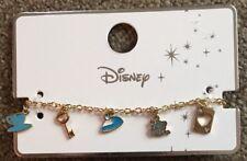 Primark Disney Alice In Wonderland Bracelet BNWT Interchangeable Charm Bracelet