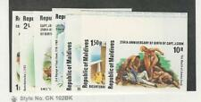 Maldive Islands, Postage Stamp, #750-756 Imperf Mint NH, 1978 Capt Cook, JFZ