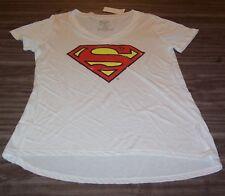 WOMEN'S TEEN Dc Comics SUPERMAN T-shirt MEDIUM NEW w/ TAG